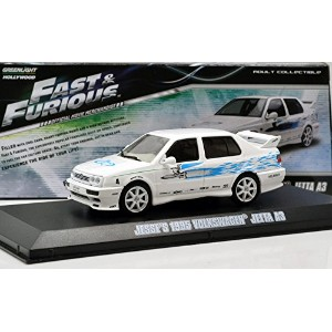 "GREENLIGHT 1:43SCALE ""THE FAST AND THE FURIOUS"" ""JESSE'S 1995 VOLKSWAGEN JETTA A3"" グリーンライト 1:43スケール..."