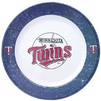 MLB Minnesota Twins Dinner Plates ( Set of 4 )