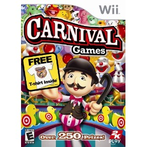 Carnival Games with T-Shirt-Nla