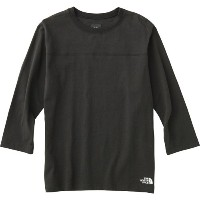 THE NORTH FACE ノースフェイス 3/4 One Point Logo Tee 〔機能Tシャツ 2017SS 〕 (K):NT31742