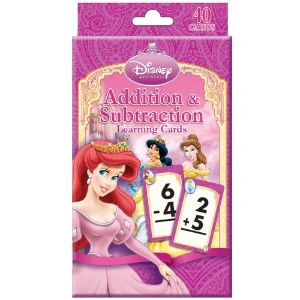 Disney Princess Addition and Subtraction Learning Cards ディズニープリンセスの加算と減算学習カード♪ハロウィン♪クリスマス♪