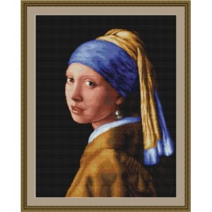 Girl with a Pearl Earring(クロスステッチキット)