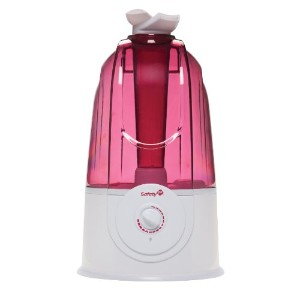 Safety 1st Ultrasonic 360 Degree Humidifier, Raspberry by Safety 1st