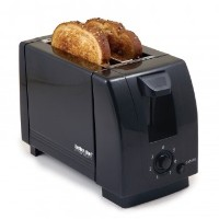 2 Slice Toaster Color: Black by Better Chef
