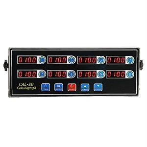 BEAMNOVAテつョ Commercial 8 Channel Digital Alarm Timer Kitchen Stainless Steel Calculagraph by...