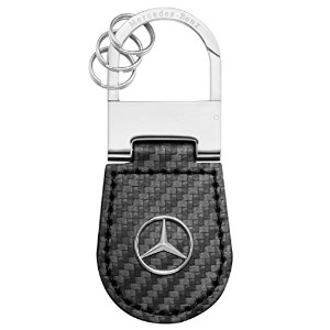 【Mercedes-Benz Collection】 キーリング カーボン調ブラック