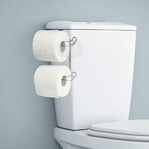 YBMHome over theタンクToilet Paper Tissue Hanging Metal 2-rollホルダーforバスルームストレージ – クロム2230 2230