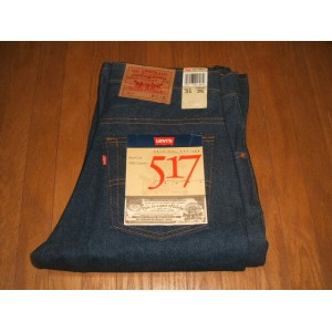 LEVIS(リーバイス) 517 ブーツカット Lot 517-0217 1990年代 MADE IN USA(アメリカ製) 実物デッドストック W31×L38
