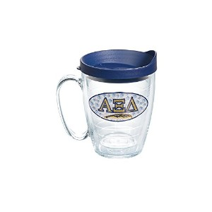 Tervis Alpha Xi Delta Sororityマグ、16オンス、クリア