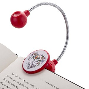 Disc Readingライトby WITHit–LED Book Light Withクロームネックブック、電子ブックEリーダーのライト。。。 R-DSC-01778-WB-01