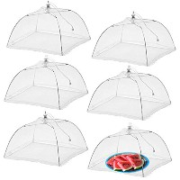 "Simply Genius Large 6パックポップアップメッシュFood Covers forパーティのテント屋外、17 "" x17 "" x11 "" screen protectorsピクニック..."