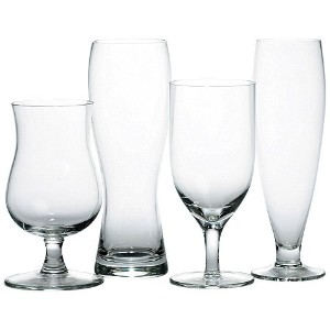 Mikasa Brewmaster's 4-Piece Assorted Craft Beer Glasses by Mikasa