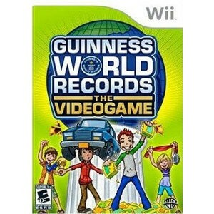 Wii GUINNESS WORLD RECORDS THE VIDEOGAME 【北米版】ギネス ワールドレコード
