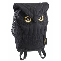 【MORN CREATIONS】OWL Pouch(Black)ミミズクポーチ(ブラック)