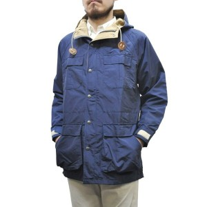 SIERRA DESIGNS(シェラデザイン) 【MADE IN USA】(アメリカ製) 60/40(ロクヨンクロス) MOUNTAIN PARKA(マウンテンパーカ) NAVY/VINTAGE...