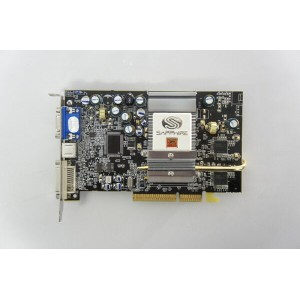SAPPHIRE RADEON 9600XT ULTIMATE EDITION 128MB DDR AGP [11029-05-41] ファンレス 【中古】【全品送料無料セール中! 〜04/30(日...