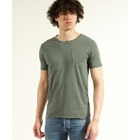 【Nudie Jeans(ヌーディージーンズ)】OVE PATCHED TEE
