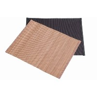 Typhoon - Dinner Table Placemat - Wipe Clean Only - Bamboo - 37.5x 30cm - Natural