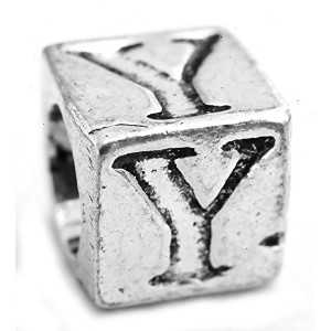 English Alphabet Letters: A to Z (Price Per Piece) - Sterling Silver - Color Y