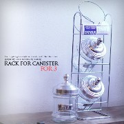 Rack for canister(For 3)(ラックフォーキャニスター3)100-030R3 DULTON(ダルトン)