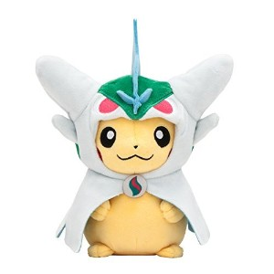 Pokemon Center Original stuffed Pikachu with poncho of Mega Gallade [並行輸入品]