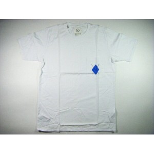 VISVIM ヴィズヴィム DIAMANTE POCKET TEE S/S 青
