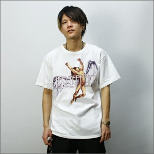 ◎LED ZEPPELIN Tシャツ COLORFUL SWAN SONG 白