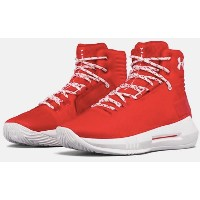 Under Armour UA Drive 4 キッズ/レディース Red / White アンダーアーマー バッシュ ドライブ 4 カリー Stephen Curry ステフィン・カリー