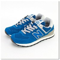 New Balance ニューバランス レディース RUNNING STYLE スニーカー[ML574VMU/VTR/VWI/VN/VG] 24.5cm VTR TRUE BLUE