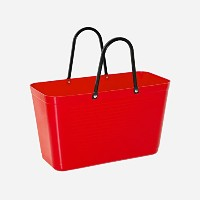 Hinza Reusable Grocery Toteバッグスウェーデンから Big 15 Liters/33# レッド