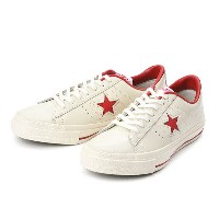 【converse】 コンバース ONE STAR(A) OX ワンスター オックス ABC-MART限定 WHITE/RED