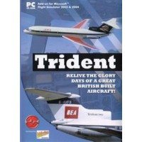 Trident for Microsoft Flight Simulator 2004 & 2002 (輸入版)