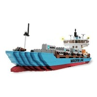 LEGO 10155 Maersk Line Container Ship レゴ マークスラインコンテナ船 並行輸入品