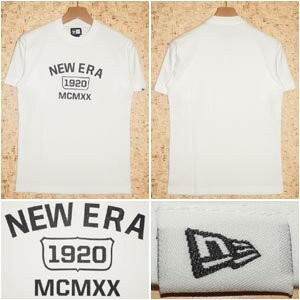 NEW ERA [ニューエラ] TシャツN0019111 COOLMAX PERFORMANCE TEE -MCMXX-