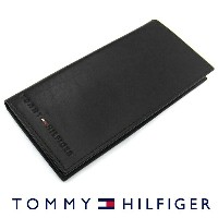 TOMMY HILFIGER トミーヒルフィガー 31TL19X006 長財布 小銭入れ付き ブラック トミーヒルフィガー 財布 卒業祝い 入学祝い  プレゼント ギフト