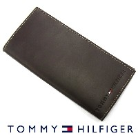 TOMMY HILFIGER トミーヒルフィガー 31TL19X006 長財布 小銭入れ付き ブラウン トミーヒルフィガー 財布 卒業祝い 入学祝い  プレゼント ギフト