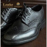 Loake England ローク 革靴 メンズ ブローグ シューズ F 3E CHESTER ギフト