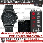ルミノックス アタカマフィールド クロノアラーム 1941Blackout【2年正規保証書付】【送料無料】LUMINOX Atacama Field Chrono Alarm 1940 Series ...