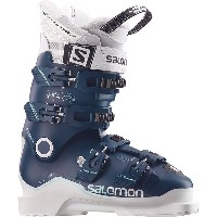 サロモン レディース スキー スポーツ X Max 90 Ski Boot Petrol Blue/White/Light Green