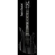 SCHECTER AD-A7X-SS-STD (Black w/Silver Pin) Synyster StandardSynyster Gatesモデル シェクター エレキギターDIAMOND...