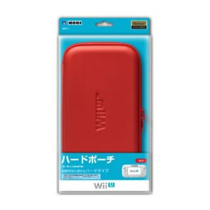 WIU-011 ホリ ハードポーチ for Wii U GamePad レッド【KK9N0D18P】