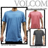 VOLCOM Tシャツ SOLID HEATHER S/S TEE ■DL