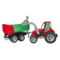 Bruder ブルーダー トラクター フロントローダー Tractor with Frontloader and Rear Tipper