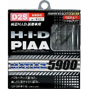 PIAA 純正交換HID マティアス5900 D2S HH227