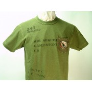 "Buzz Rickson's (バズリクソンズ)S/S Tシャツ""345th BOMB.GROUP"""