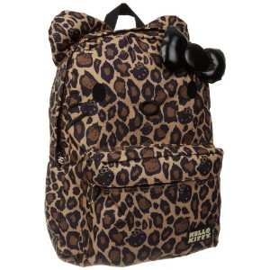 Hello Kitty ハローキティ バックパック SANBK0049 Backpack,Black/Brown,One Size