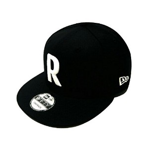 Ron Herman ロンハーマン ニューエラコラボ 17AW 黒 R刺繍 New Era for RHC Logo Cap NEWERA 9FIFTY SNAP BACK キャップ BLACK