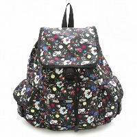 LeSportsac レスポートサック リュックサック 7839 Voyager Backpack D839 SCHOOL'S OUT [並行輸入商品]