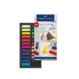 Faber-Castell GFソフトパステル 24色セット