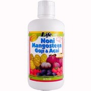 海外直送品Life Time Nutritional Specialties Noni Mangosteen Goji & Acai Blend, 32 oz
